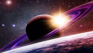 пролетая над сатурном